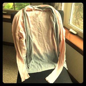 Calia by Carrie Underwood ombré wrap sweater M